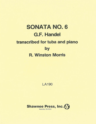 Product Cover for Sonata No. 6