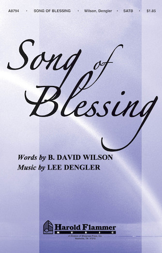 Product Cover for Song of Blessing