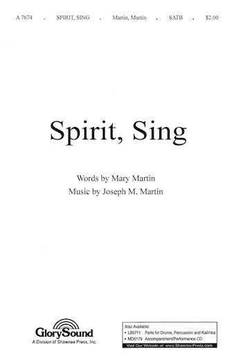 Product Cover for Spirit, Sing