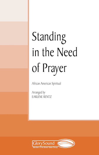Product Cover for Standing in the Need of Prayer