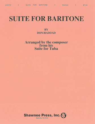 Product Cover for Don Haddad: Suite For Baritone