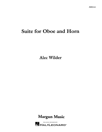 Product Cover for Suite for Oboe and Horn