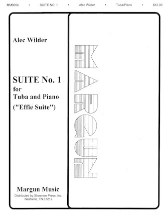 """Product Cover for Suite No. 1 for Tuba and Piano (""""Effie Suite"""")"""