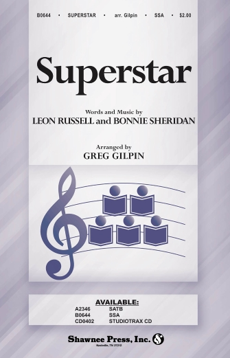 Superstar : SSA : Greg Gilpin : Leon Russell : The Carpenters : Sheet Music : 35022207 : 747510190523