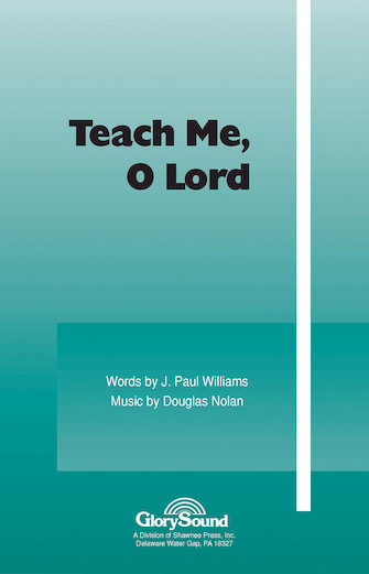 Product Cover for Teach Me, O Lord
