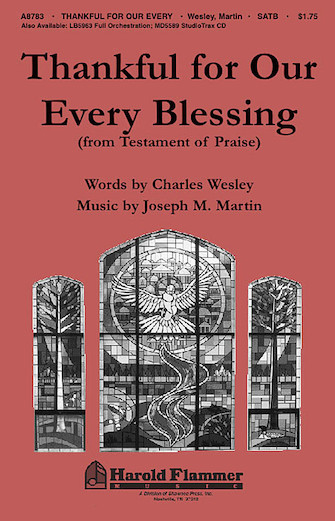 Product Cover for Thankful for Our Every Blessing (from Testament of Praise)