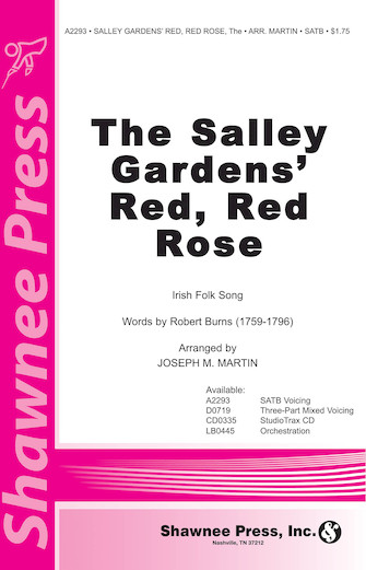 Product Cover for The Salley Gardens' Red, Red Rose