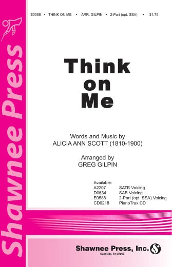 Product Cover for Think on Me
