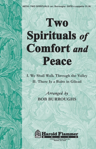 Product Cover for Two Spirituals Of Comfort And Peace