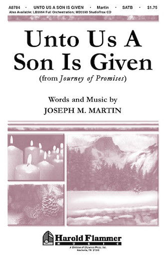 Product Cover for Unto Us a Son Is Given (from Journey of Promises)