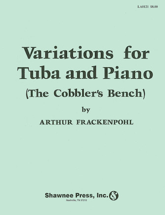 """Product Cover for Variations for Tuba (""""The Cobbler's Bench"""")"""