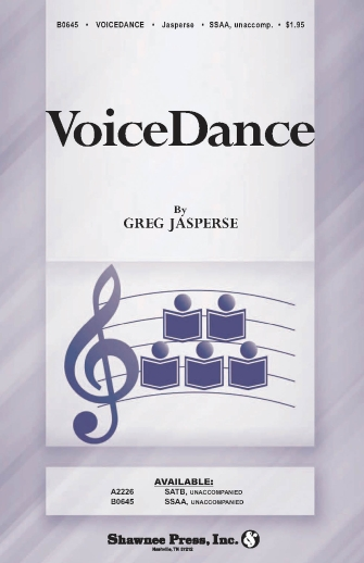VoiceDance : SSAA : Greg Jasperse : Sheet Music : 35024801 : 747510190639