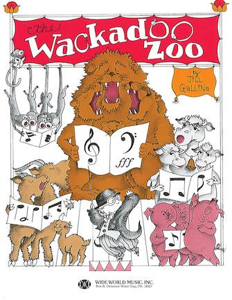The Wackadoo Zoo Student Book
