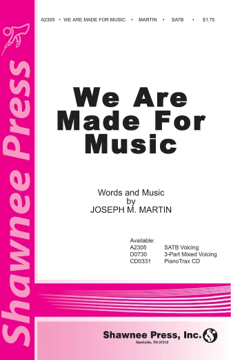 Product Cover for We Are Made for Music