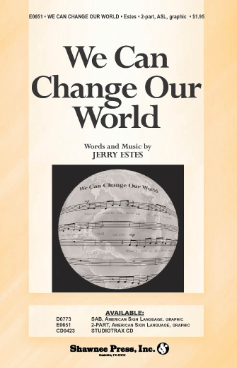 Product Cover for We Can Change Our World