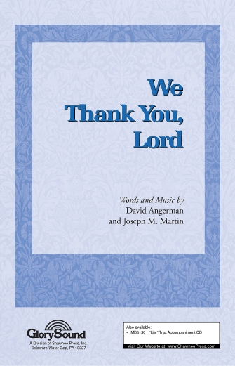 We Thank You, Lord