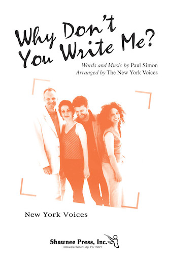 Product Cover for Why Don't You Write Me?
