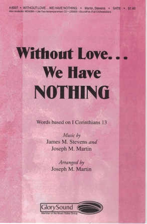 Product Cover for Without Love... We Have Nothing
