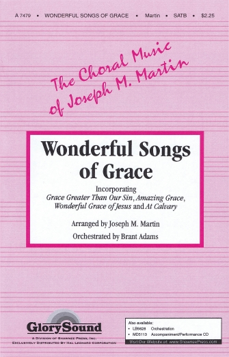 Product Cover for Wonderful Songs of Grace