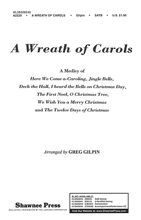 Product Cover for A Wreath of Carols