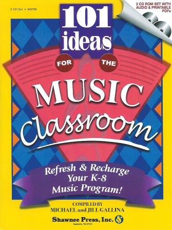 Product Cover for 101 Ideas for the Music Classroom