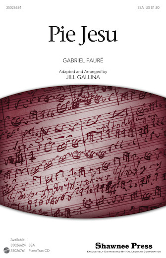 Pie Jesu : SSA : Jill Gallina :  : Sheet Music : 35026624 : 884088465223 : 1423486102