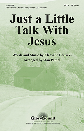 Product Cover for Just a Little Talk with Jesus
