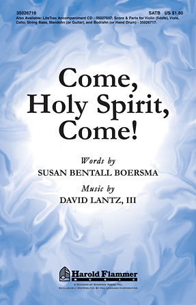 Product Cover for Come, Holy Spirit, Come!