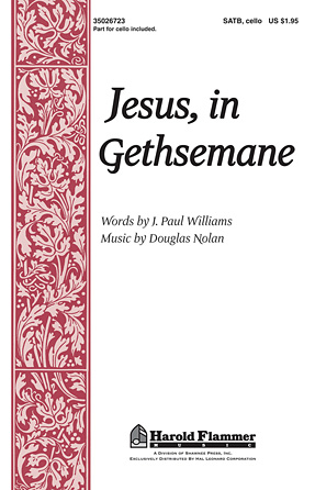 Product Cover for Jesus, in Gethsemane
