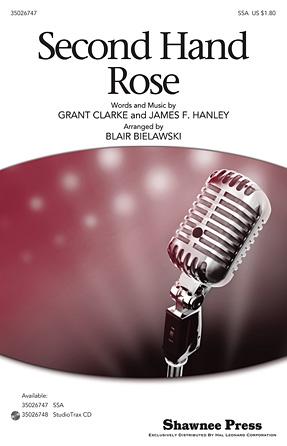 Second Hand Rose : SSA : Blair Bielawski : Sheet Music : 35026747 : 884088454494 : 1423487931