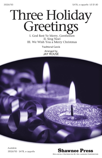 Product Cover for Three Holiday Greetings