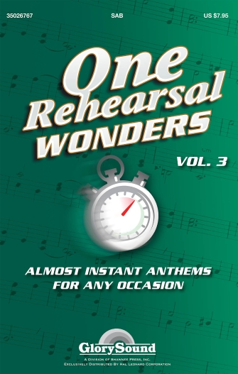 Product Cover for One Rehearsal Wonders, Volume 3