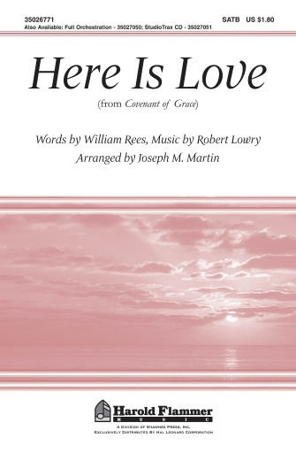 Product Cover for Here Is Love (from Covenant of Grace)