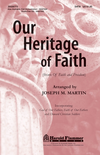 Product Cover for Our Heritage of Faith
