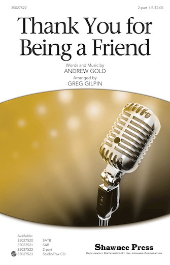 Product Cover for Thank You for Being a Friend