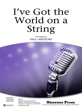 Product Cover for I've Got The World On A String