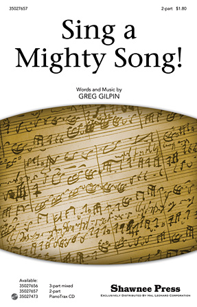 Product Cover for Sing a Mighty Song!
