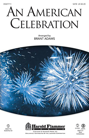 An American Celebration : SATB : Brant Adams : Sheet Music : 35027711 : 884088538255