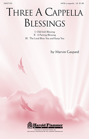 Product Cover for Three A Cappella Blessings