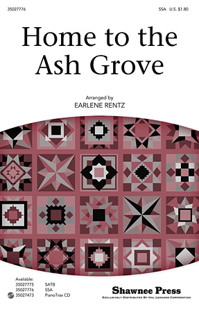 Home to the Ash Grove : SSA : Earlene Rentz : Antonin Dvorak : Rent : Sheet Music : 35027776 : 884088539788