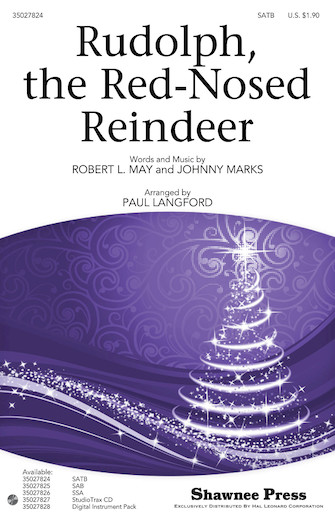 Rudolph the Red-Nosed Reindeer : SATB : Paul Langford : Sheet Music : 35027824 : 884088549947