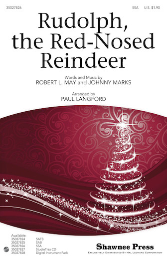 Rudolph the Red-Nosed Reindeer : SSA : Paul Langford : Sheet Music : 35027826 : 884088549961