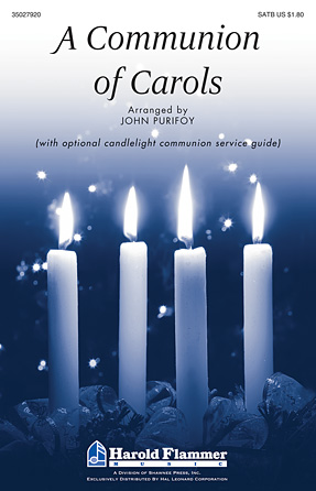 A Communion of Carols : SATB : John Purifoy : Sheet Music : 35027920 : 884088569983