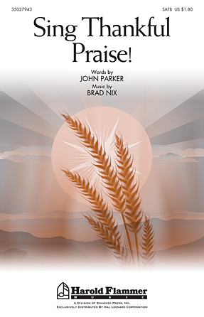 Product Cover for Sing Thankful Praise!