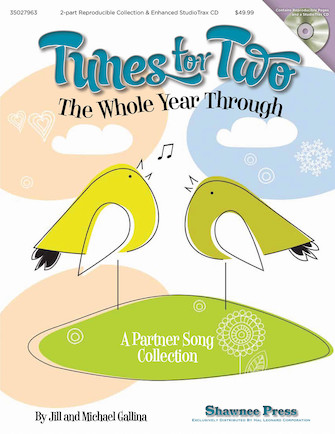 Product Cover for Tunes for Two the Whole Year Through