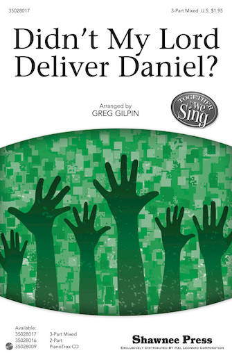 Product Cover for Didn't My Lord Deliver Daniel?