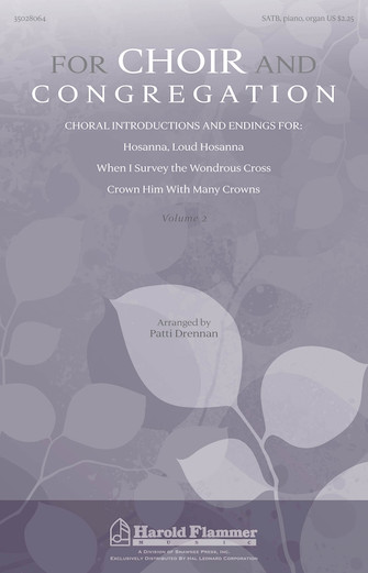 Product Cover for For Choir And Congregation, Volume 2