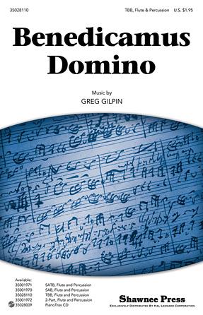 Benedicamus Domino : TBB : Greg Gilpin : Greg Gilpin : Sheet Music : 35028110 : 884088607616