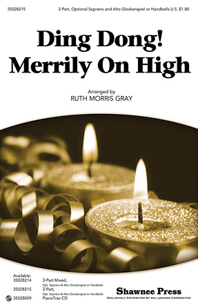 Ding Dong! Merrily on High : 2-Part : Ruth Morris Gray : Sheet Music : 35028215 : 884088626280