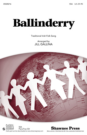 Ballinderry : SSA : Jill Gallina : Sheet Music : 35028216 : 884088626297